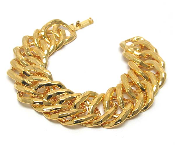 Gold Metal Chain Link